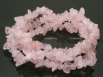 [fws] 8-12mm Rose Quartz Chips 15.5""