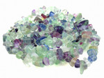 [fvv] 8-12mm Fluorite Chips 36""