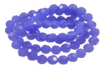 """4mm Reconstructed Chalcedony Round Beads 15.5"""" [fc4b4]"""