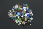 Big Pack 4-8mm Crystal Faceted Beads Assortment 1.05oz 30gr (Approx. 140pcs) [xu1x]