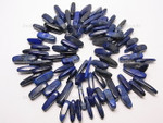 18-20mm Natural Lapis Lazuli Briolette Beads 15.5""