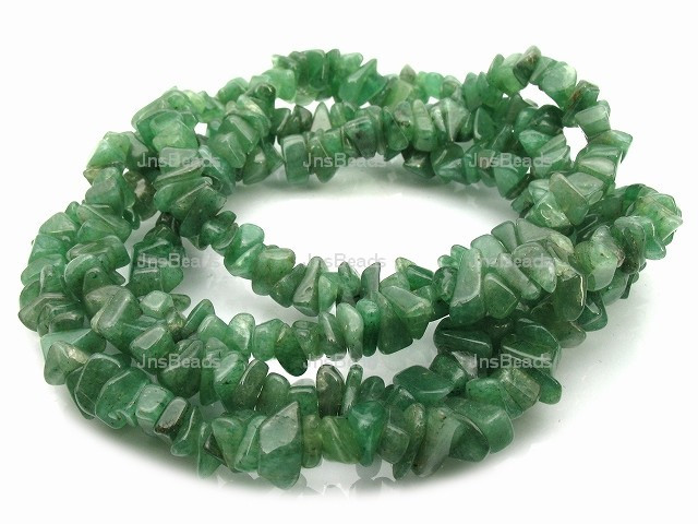 8-12mm Dark Aventurine Chips 36""