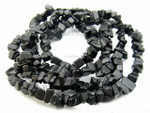 8-12mm Black Onyx Chips 36""