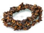8-12mm Tiger Eye Chips 36""