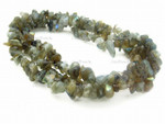 8-12mm Labradorite Chips 36""