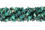 12-14mm Green MOP Mother Of Pearl Chips 36""