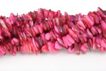 "12-14mm Pink Mop Mother Of Pearl Chips 36"" [c3s8]"