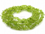 6-7mm Peridot Chips 15.5""