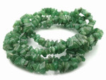 8-12mm Dark Aventurine Chips 15.5""