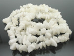 8-12mm White Agate Chips 15.5""