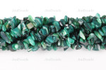12-14mm Green MOP Mother Of Pearl Chips 15.5""