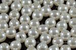 8mm Best Lustre Pearl Plastic Approx.70pcs.