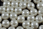 10mm Best Lustre Pearl Plastic Approx.55pcs.