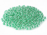 Seed Bead 2mm 11/O 50 Gram (Appx.5000), Lime Green Lined