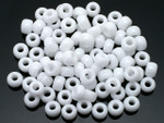 Seed Beads 3mm 8/O 50 Gram 1.7Oz (Appx.2000), Opaque White