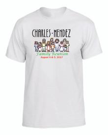 Charles Mendez Reunion Adult Tee