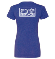 FSA Swim Mom  CVC V Neck