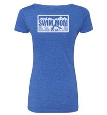 FSA Swim Mom Triblend Scoop Neck