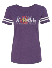 Women's Colorado Football Fine Jersey V Neck