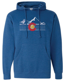 Colorado Volleyball Adult Hoodie