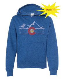 Colorado Volleyball Youth Hoodie