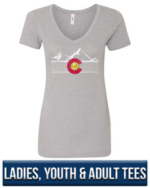 Colorado Volleyball Super Soft Tee