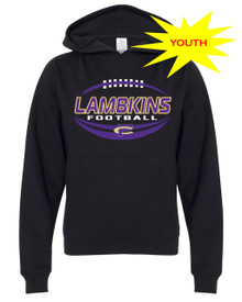 Lambkins Football Youth Hoodie