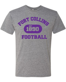 Est 1890 Football Adult Triblend Tee