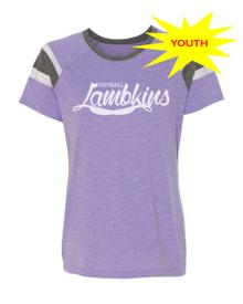 Girls Lambkins Football Tee