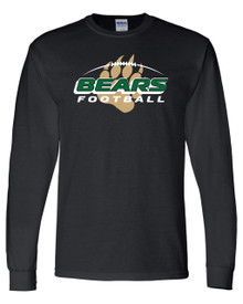 Bear Creek Football Long Sleeve Tee