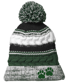 Bear Creek Football Beanie