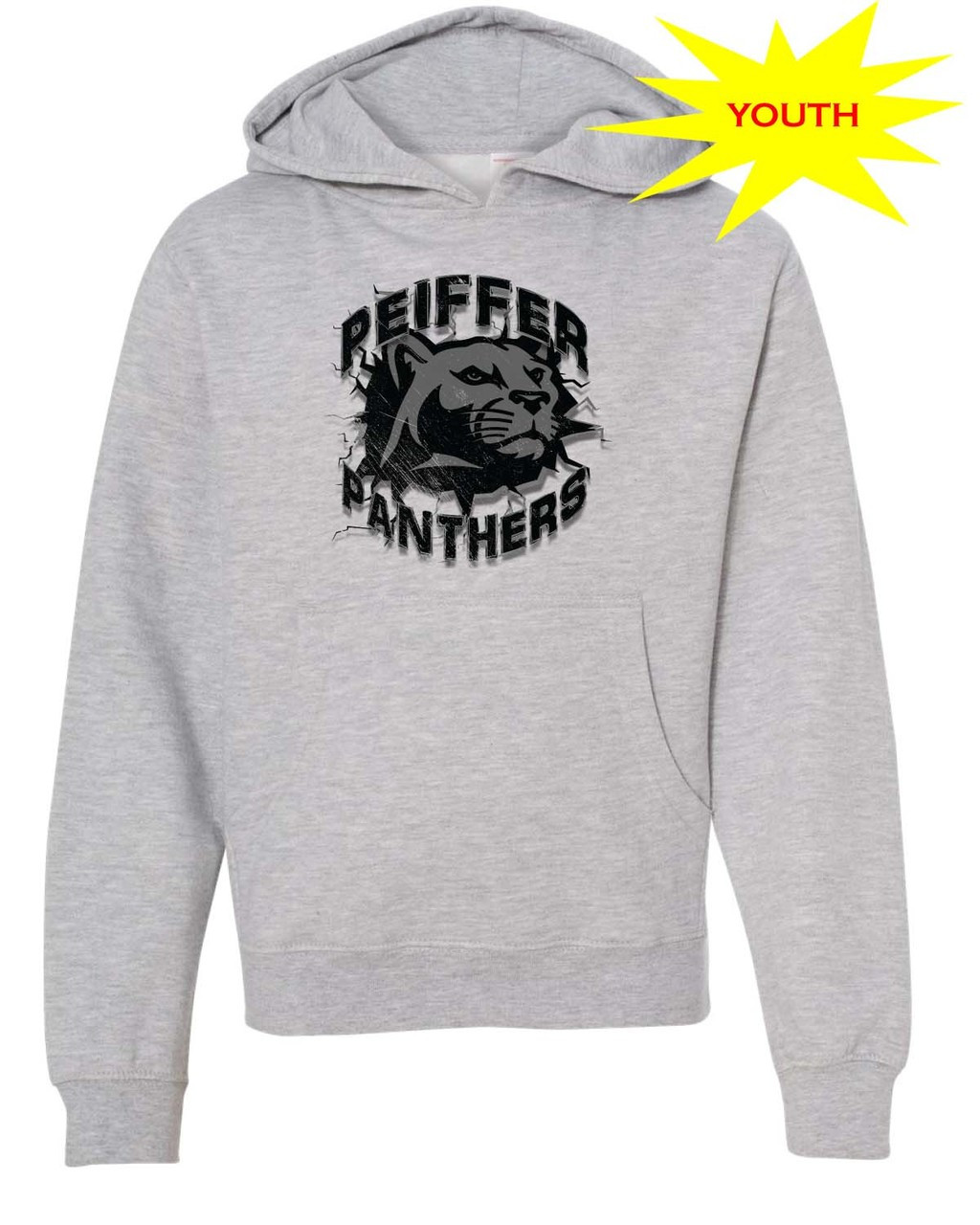 buy online 9b9ff 89f03 Peiffer Panthers Youth Hoodie