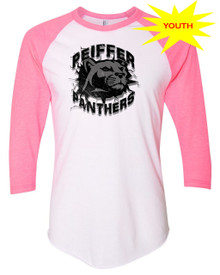Peiffer Panthers Youth Baseball Tee
