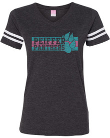 Ladies Panther's Pride Football Tee