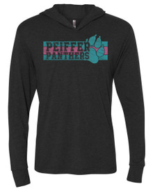 Panther's Pride Adult Triblend Hooded Shirt