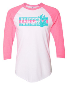 Panthers Pride Adult Baseball Tee