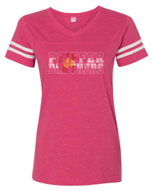 Colorado Panthers Ladies Football Tee