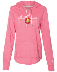 Colorado Volleyball Ladies Hooded Pullover
