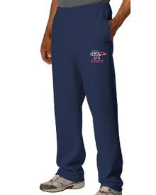 DRHS Rugby Embroidered Open Bottom Sweatpants
