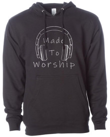 Made To Worship Adult Hoodie