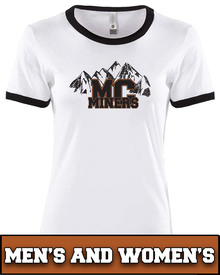 Miners Mountains Adult Ringer
