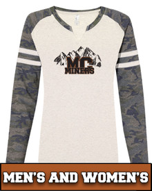 Miners Mountains Adult Long Sleeve