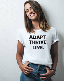 Adapt. Thrive. Live.