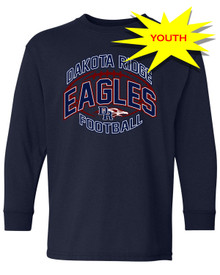 Youth DRHS End Zone Longsleeve Tee