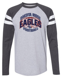 DRHS End Zone Football Tee