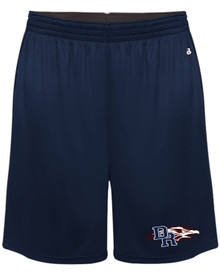 DRHS End Zone Embroidered Shorts
