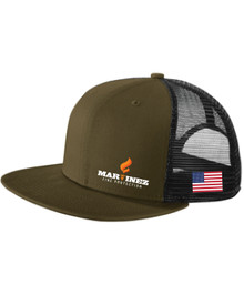 Black / Olive Trucker Hat