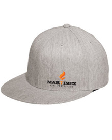 Heather Grey Flex Fit Hat