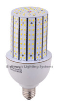Dimmable 20 watt LED Corn Lamp, 100 watt HID equal, 2400 Lumens, 110VAC / 240VAC Triac Dimmable