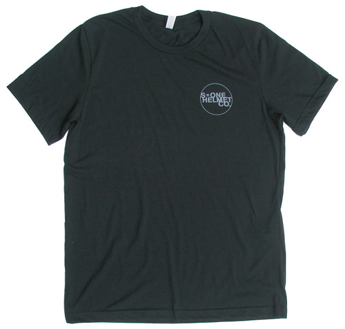 S-ONE Helmet Co. - Small Seal Logo T-Shirt - Black